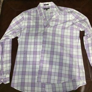 MENS Express Button-Down Dress Shirt